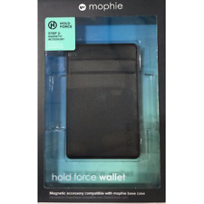 mophie Hold Force Wallet for iPhone X 7/8 & Plus Base Case - Black