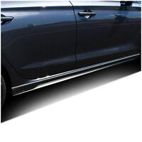 Seitenschweller Folien Dekor Carbon Schwarz für Hyundai i30N Aufkleber D015
