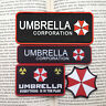A suit of RESIDENT EVIL BADGE RED UMBRELLA CORPORATION TACTICAL MORALE PATCH