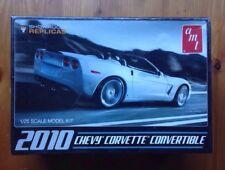 2010 Corvette Convertible - Amt/Ertl 1/25 unassembled kit#Amt677 - Sealed/Nib