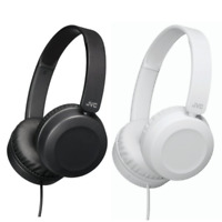 JVC HAS31MWE WIRED ON-EAR STEREO HEADPHONES DEEP BASS BOOST - BLACK OR WHITE