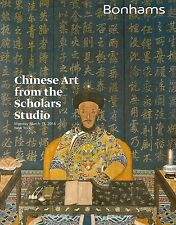 Bonhams Chinese Art From The Scholars Studio Auction Catalog March 2014