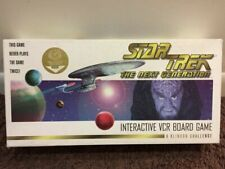Star Trek : The Next Generation : A Klingon Challenge/Interactive Vcr Board Game (1995, Hardcover)
