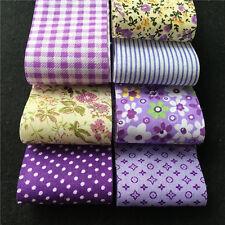 30PCS 5x50cm Fabric Bundle Stash Cotton Patchwork Sewing Quilting Tissue Cloth L