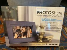 "SimplySmartHome PHOTOShare 8"" Black Digital Picture Frame"