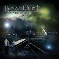 Life to Die For ROYAL HUNT ltd dijipack cd+ dvd