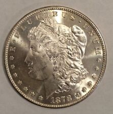1878 7 Tail Feathers Morgan Silver Dollar $1