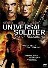 Universal Soldier Day of Reckoning NEW WS DVD Jean-Claude Vandamme Dolph Lundgre