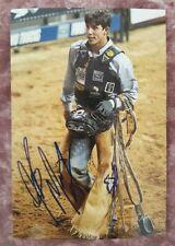 JB Mauney Professional Bull Riding PBR World Champion Autographed Photo #34