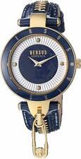 Versus by Versace Women's SCK090016 'KEY BISCAYNE II' Quartz Leather Watch