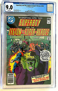 Superboy and the Legion of Super-Heroes #256 CGC 9.0