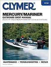 Clymer Manual Mercury Mariner 75-275 HP 2-Stroke Outboard (Jet Drive) 94-97 B724