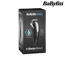 BABYLISS PRO v-blade LITIO Cord / cordless capelli Clipper RIVENDITORE UFFICIALE