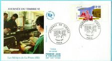 2744-ENVELOPPE 1° JOUR   JOURNEE DU TIMBRE 1992