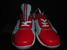 PRADA MESH 3163 RED TENNIS.RUNNING SHOES   MINT=  SIZE 6uk 8US   $400 Rtl