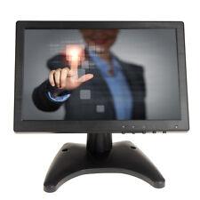 """10"""" IPS Touch Screen LCD HD 1280*800 Video Monitor HDMI VGA AV BNC For POS PC Q5"""