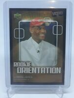2003-04 Upper Deck UD Victory LeBron James RC Rookie Orientation #101 CAVALIERS