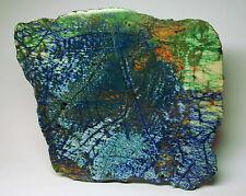Azurit Malachit Scheibe- 1A Qualität - 100% Echt- Sammlerstück