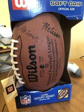 WILSON OFFICIAL GRIP OFF SIZE FOOTBALL SIGNED BY  JAGUAR CHEERLEADERS