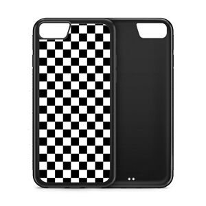 Checkers Pattern Chess Board Rubber Phone Case