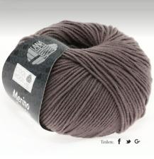 Lana Grossa Cool Wool Laine Mérinos Lavable en Machine Feutrage Fb 558 Gris-Brun