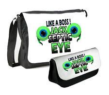 JACKSEPTICEYE MESSENGER BAG & PENCILCASE DOUBLE PACK JACKSEPTICEYE TWO EYE