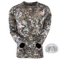sitka gear Core Lightweight Crew LS Long Sleeve Elevated ll Optifade 10033
