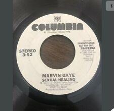 "MARVIN GAYE SEXUAL HEALING 45 RPM VINYL 7"" SINGLE 1982 WHITE LABEL Promo"