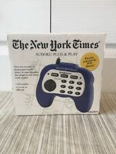 Sudoku Electronic Plug & Play Puzzle Game The New York Times Handheld Game New