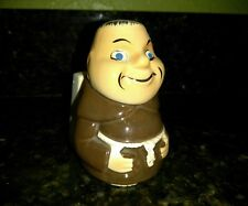 Friar Tuck Monk Advertising McWilliams Cream Sherry Ceramic Match Box Holder