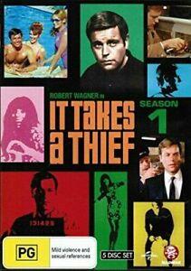 It Takes A Thief : Season 1 (DVD, 2010, 5-Disc Set)**