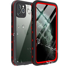 For Apple iPhone 11 Pro Max Waterproof Case Cover w/Built-in Screen Protector 11