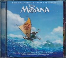 Disney MOANA CD NEW original motion picture soundtrack