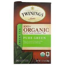 Twinings Of London Organic Pure Green Tea