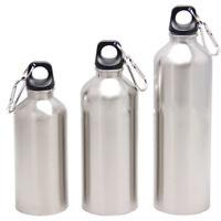 750ml Silber Edelstahl Wasser Flasche Outdoor Sport Radfahren Camping Bottle.NEW