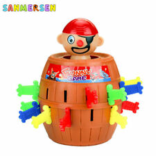 Pirate Barrel Funny Game Toys Lucky Stab Pop Up Party Game For Kids Children