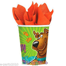 SCOOBY-DOO WHERE ARE YOU! 9oz PAPER CUPS (8) ~ Birthday Party Supplies Drinking