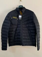 Barbour Men's Chain Quilted Baffle Jacket, Black Large New With Tags RRP £159