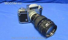 Vintage Exakta Ihagee Dresden Camera w/ Steinheil Munchen Quinar Lens AS IS