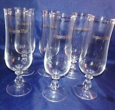 Segura Vivudas Wine Glasses - Set of 6 with Box - Vintage