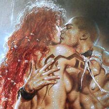 Luis Royo PRINT Fantasy Art 2003 Erotic Pinup Red Sonja Sexy Female Lovers Conan