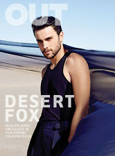 OUT Magazine GAY March 2015, Jack Falahee NEW