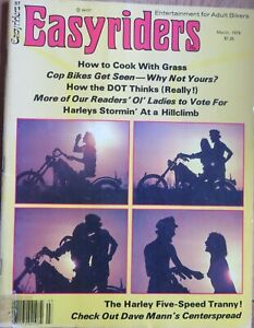 EASYRIDERS Magazine..Issue 57...March 1978