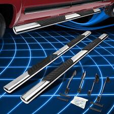 """Chrome Oval 5"""" Side Step Nerf Bar for 1998-2002 Dodge Ram 1500-3500 Quad Cab"""