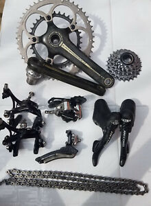 campagnolo record ct groupset carbon titanium 10 speed