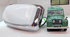 Interior Del Techo Luz Cristal Adorno Cromo & Bombilla LED Land Rover Serie 2