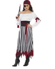 "BRAND NEW ""Smiffy's"" PIRATE LADY Costume Size S (UK 8-10)RRP £23.99"