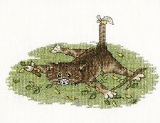 """Counted Cross Stitch Kit Make Your Own Hands - """"Pick me!"""""""