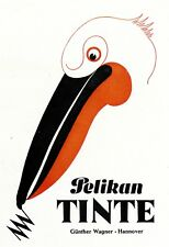Pelikan Tinte Reklame 1943 !!! Werbung Günther Wagner Hannover