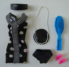 Barbie Clothes/Fashions Floral Dress, Purse, Headband, Shoes NEW!!